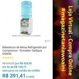 Bebedouro de Mesa Refrigerado por Compressor - Esmaltec Gelágua