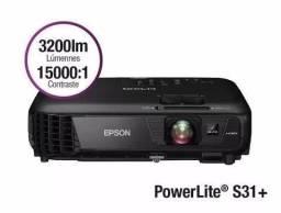 Projetor Epson Powerlite S31+ 3200 Lumens HDMI