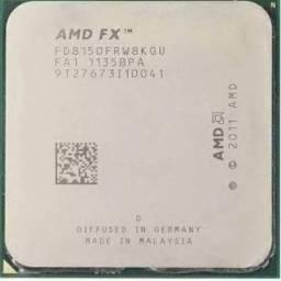 Kit upgrade Processador FX8150 placa mãe GA-990FXA-UD3 16gb (4x4)ddr3 1600 corsair blue