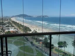 Apartamento no Guarujá de frente para o mar com 4 suítes - Praia da Enseada