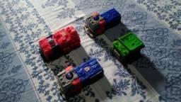 Bonecos Transformers Antigo - Complete sua colecção