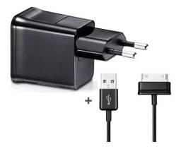 Carregador para Tablet Fonte e Cabo de Dados USB Samsung Galaxy