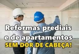 Reformas imóveis e construções