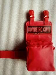 Porta Treco Bombeiro Civil - Tam. Médio / Marca: Elite Cop