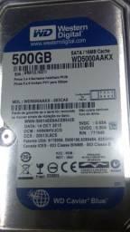 HD 500 GB Western Digital Serial ATA 7200 RPM 100% para Desktop