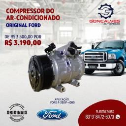 COMPRESSOR DO AR-CONDICIONADO ORIGINAL FORD F-350/F-4000