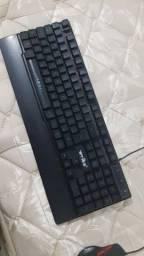 Kit teclado, mouse e headset Gamer