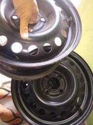 Jogo de rodas de ferro aro 14
