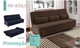 Sofá cama confortável entrego