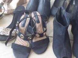 PROMOÇÃO!!!  6 Pares de sapatos femininos em excelente estado