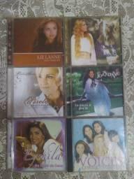6 CDs ORIGINAIS GOSPEL