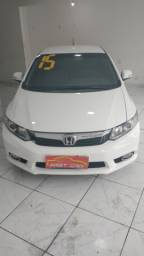 Honda civic 2014 completo c / gnv entrada + x 999
