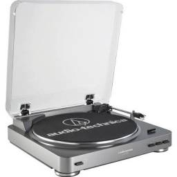Toca Discos Audio Technica AT-LP60 USB - NA CAIXA