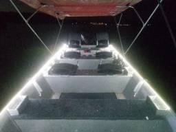 Barco motor e carreta 2020