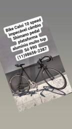 Bicicleta Caloi 10 speed impecável