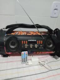 Caixa acústica Mondial Bluetooth