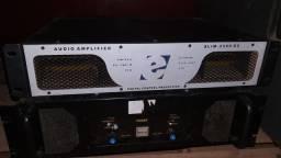 Amplificadores potencia dj som