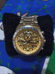 Vendo esse Relógio Cássio Edifice original mesmo dourado