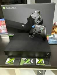 Usado, One X seminovo com garantia - Aceito o seu PS4, Xbox One S e Nintendo Switch de entrada comprar usado  Votorantim