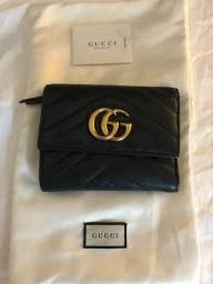 Carteira Gucci Marmont matelassê comprar usado  Rio de Janeiro