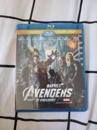 Blu-Ray 3D + Blu-Ray Duplo Marvel Vingadores