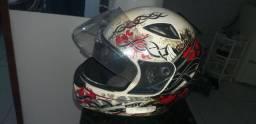 Jaqueta mais capacete