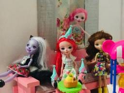 Lojinha da Bia - Bonecas Enchantimal com acessórios!
