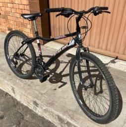 Bike - 21 marchas - câmbio Shimano