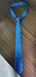 Gravata Slim Fit Pierre Azul