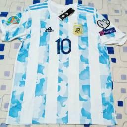 Camisa Seleção Argentina adidas Messi G nova