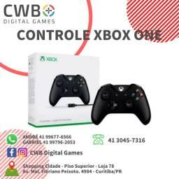 Controle Xbox One,novo lacrado e c/ garantia,somos loja física