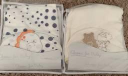 Dmv - Toalha de banho infantil com touca para bebe