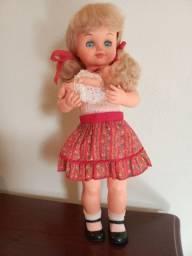 Boneca mãezinha Estrela anos 70