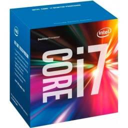 Kit Upgrade I7 7700 + Placa mãe B250-gaming 3 + Memória 2x8 HyperX Fury 2133