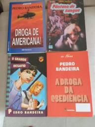 4 livros coleção  Pedro Bandeira
