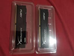 Vendo 2x4gb memória ram ddr4 novos na caixa