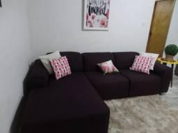 Belo sofá com 2.60 cmpt! Impecável+ chaise. Viamão