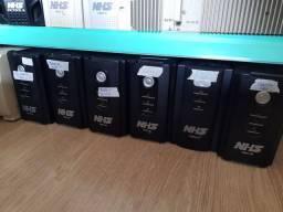 Nobreak NHS ou Sms 600 /700va Bateria Nova