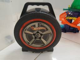 Pistas e mala Hot Wheels original.