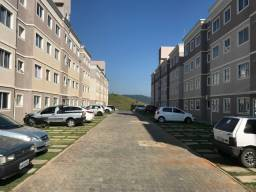 Apartamento novo, dois quartos, segundo andar, vista livre