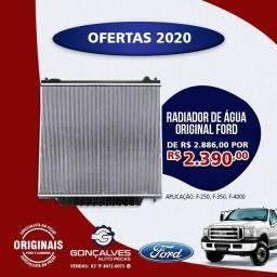 RADIADOR DE ÁGUA ORIGINAL FORD F-250/F-350/F-4000