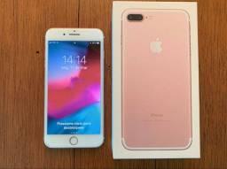 IPHONE 7 PLUS 32GB OURO ROSE
