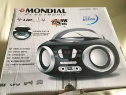 Rádio CD Player Mondial Eletronic  - preto