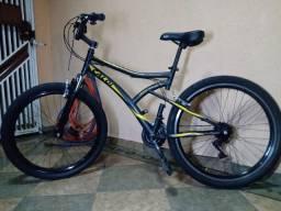 Bike aro 26 Caloi andes com aro Vmax e pneus kenda