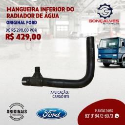 MANGUEIRA INFERIOR DO RADIADOR ORIGINAL FORD CARGO