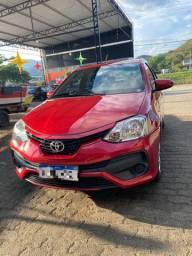Carro Toyota Etios 2017. R$43.900