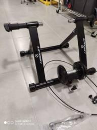 Rolo treino fixo Absolute com suporte roda dianteira