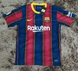 Camisas originais Barcelona Nike 2020 PRODUTO EM MÃOS