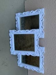 Trio de Espelhos / Porta-retratos
