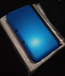 3DS XL na caixa desbloqueado 16gb.